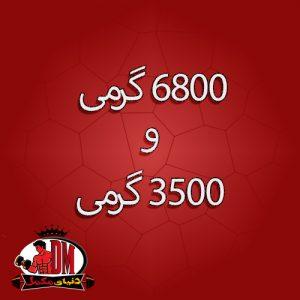 وزن گین بولیک 6000 الیمپ